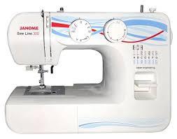 <b>Швейная машина Janome Sew</b> Line 300 белый купить в интернет ...