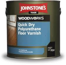 Купить <b>Лак паркетный</b> водный <b>JOHNSTONES</b> Quick Dry Floor ...