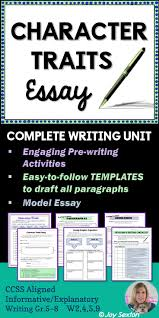 best ideas about literary essay essay writing character traits essay here s a literary essay made easy and ready to use any