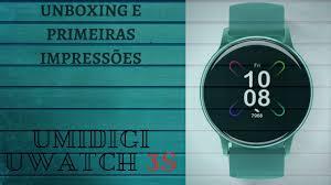 <b>UMIDIGI Uwatch 3s</b> SMARTWATCH Umidigi UNBOXING/REVIEW ...