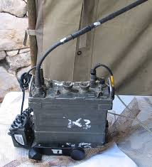 an prc 77 portable transceiver