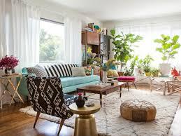 small living room set bohemian style home furniture houseplants bohemian style living room