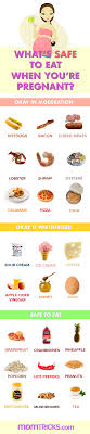can pregnant women eat this food questions answered what s safe to eat infographic