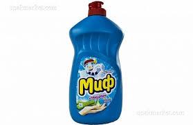 <b>Средство</b> для мытья <b>посуды Миф Алоэ</b> вера+глицерин 500 мл ...