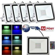 Flood RGB <b>LED Garden</b> Floodlights & Security Lights for sale | eBay