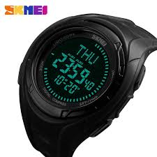 SKEMI <b>Mens Watches Outdoor Sports</b> Watch Men Electronic LED ...