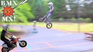BMX vs <b>MX Long</b> Jump Challenge!!! - YouTube