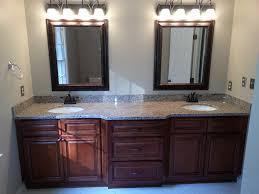 wood bathroom vanity cabinets tile