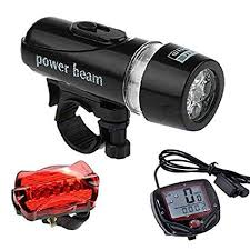 Buy Lukzer (2 <b>PC</b> Combo) <b>Cycle Light</b> - 1 <b>Pc</b> Headlight & Tail Light + ...