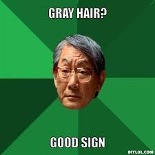 Why does hair turn gray? - Daily fun, interesting and cool facts via Relatably.com