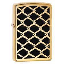 <b>Зажигалка Zippo Fence Design</b> High Polish Brass купить, цены в ...