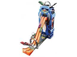 <b>игрушки</b> для мальчиков Сити МегаГараж <b>Mattel Hot Wheels</b> FTB68
