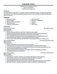 Sales Representative Job Description Resume Unforgettable Outside     sales associate resume sample sales associate customer service david adams
