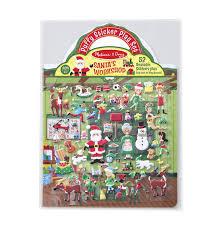 """Объемные многоразовые наклейки """"Мастерская <b>Санта</b>-Клауса"""""""