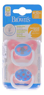 <b>Пустышка с колпачком PreVent</b> Pacifiers Butterfly PV22302 (6-12 ...