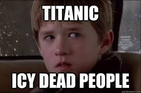 Titanic Icy Dead People - Misc - quickmeme via Relatably.com