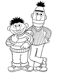 Small Picture 97 best sesame street colouring pages images on Pinterest Sesame