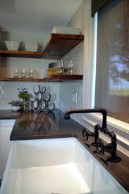 open kitchen design farmhouse: industrial farmhouse kitchen interior design unique industrial faucet oil rubbed bronze designed by