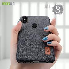 for xiaomi mi8 case cover <b>MOFI For Xiaomi Mi 8</b> SE Back Fabrics ...