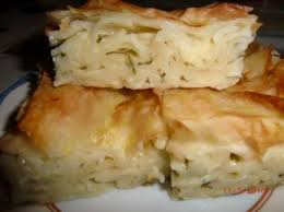 Makarnali börek , Taart maken