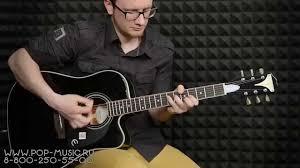 <b>Электроакустическая гитара EPIPHONE</b> PRO-1 ULTRA - YouTube