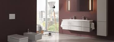a bathroom for every lifestyle living by laufen is akin to a chameleon an idea focusing on form is the basis for a variety of contemporary living ban 1 02 designlines laufen pro