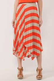 Полосатая асимметричная <b>юбка BOSS</b> - цена 8790 ₽ купить в ...