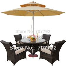 household dining table set christmas snowman knife: outdoor wicker patio furniture new resin  pc dining table set with  chairschina