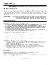 legal secretary cv example sample resume for inexperienced legal sample legal secretary resume