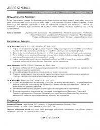 legal secretary cv example sample resume for inexperienced legal sample legal secretary