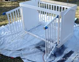 how to repurpose a crib into a dog crate how to painted furniture furniture style dog crates