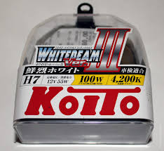 Галогенные <b>лампы KOITO H7</b> WhiteBeam III — Автокадабра