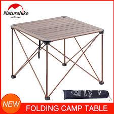 <b>Portable Camping Table</b>,<b>Aluminum Folding</b> Table Ultralight Camp ...