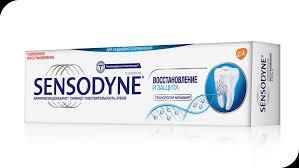 <b>Зубная паста</b> Sensodyne Восстановление и <b>Защита</b>