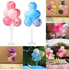 <b>QIFU Happy Birthday Balloon</b> Stand Birthday Party Decor Kids Adult ...