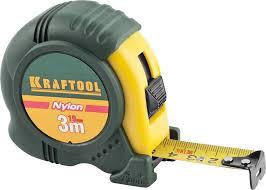 <b>KRAFTOOL NYLON</b> 3м / 19мм <b>рулетка</b> с ударостойким ...