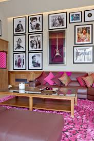 Purple Living Room Design 20 Classy And Cheerful Pink Living Rooms