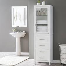 Bathroom Tower Storage Bathroom Linen Cabinets On Hayneedle Linen Storage Units
