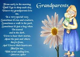 Grandparent's Day 2015 Quotes, Crafts, Poems, Activities