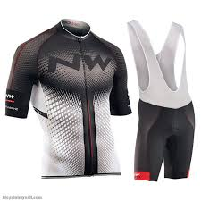 T4K NW <b>NorthWave 2019</b> Road Bike Mtb <b>Cycling Jersey</b> Bib Short ...