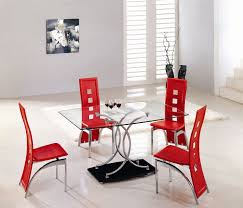 Red Dining Room Sets Dining Chair Designtable Red Leather Dining Room Chairs Plant