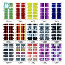 100 шт./лот YSeries оптовая продажа <b>наклейки</b> для <b>ногтей</b> ...