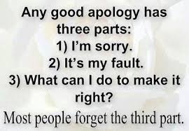 Good Apology Quotes. QuotesGram