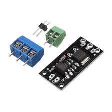 D4184 Isolated MOSFET <b>MOS Tube FET</b> Relay Module 40V 50A For ...