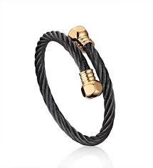 <b>Men</b> Cool <b>Leather Rope</b> Bracelet Vintage Black Genuine <b>Leather</b> ...