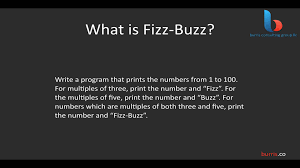 introduction to the fizzbuzz interview question introduction to the fizzbuzz interview question