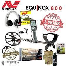 <b>Minelab Equinox 600</b> Metal Detector - Colonial Metal Detectors