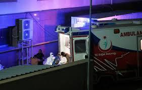 Kimyasal şüphesiyle 9 kişi daha Gaziantep'e getirildi