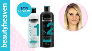 We review: TRESemmé Beauty-<b>Full Volume</b> Pre-Wash Conditioner ...