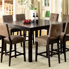 Tall Dining Room Chairs Dining Room Table Height On Bestdecorco